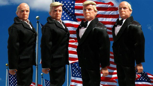 Hero Builders in Oxford has created a line of Donald Trump dolls. (Hero Builders)