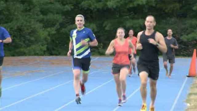 Hartford Marathon ambassador runs to raise awareness (WFSB)