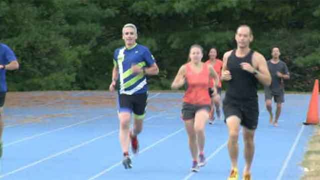 Hartford Marathon ambassador runs to raise awareness (WFSB)