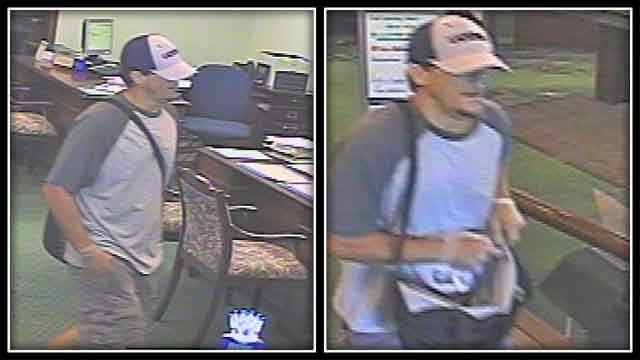 Suspect sought in Old Lyme bank robbery (Old Lyme police)