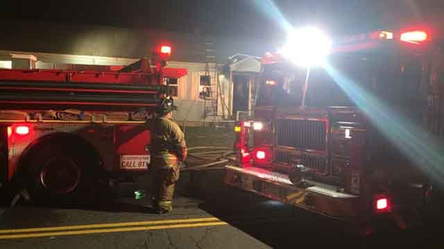 Crews respond to house fire in East Hartford (WFSB)
