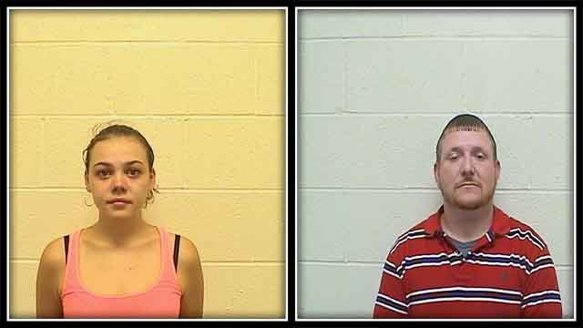 Two accused after children found in trunk of car in Torrington (Torrington Police)