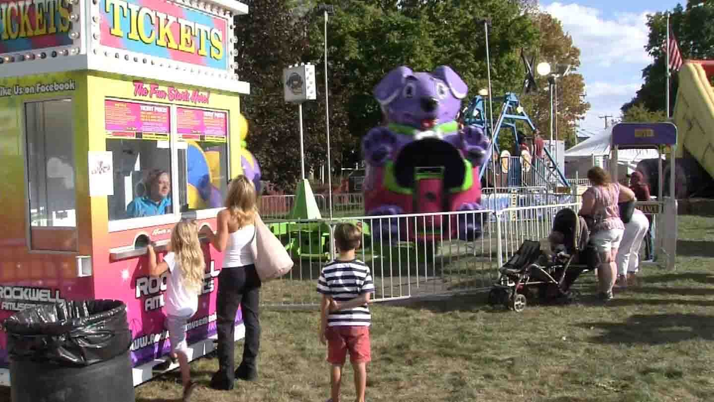 The Durham Fair kicked off on Thursday. (WFSB photo)