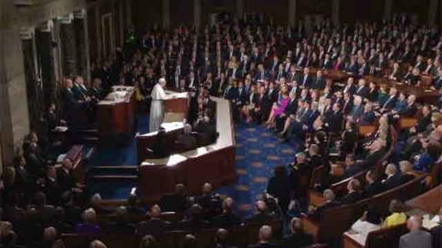 Pope Francis addresses Congress (WFSB)
