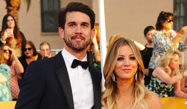 Actress Kaley Cuoco splitting from husband Ryan Sweeting. (CNN Wire)