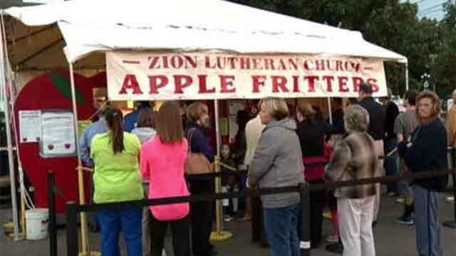 Southington Apple Harvest Festival kicks off this weekend (WFSB)