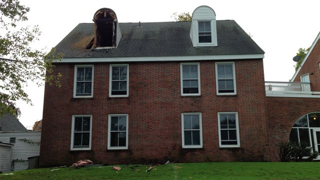 No injuries were reported during the dorm fire atHotchkiss School on Wednesday (WFSB)