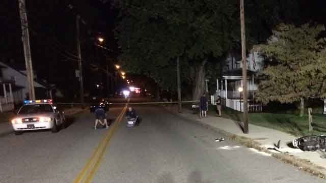 Scooter driver suffers serious injuries in crash (iwitness)