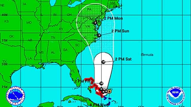The latest on Hurricane Joaquin from Bruce DePrest (National Hurricane Center)