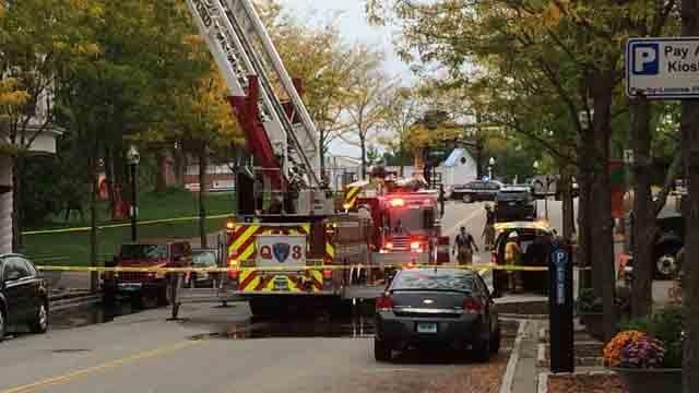 Fire crews respond to equipment malfunction at Rizzuto's Restaurant (WFSB)