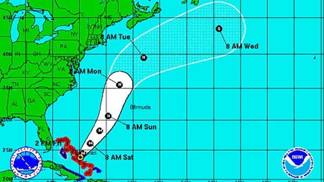 Hurricane Joaquin should steer clear of CT (National Hurricane Center)