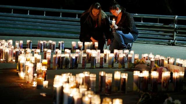 Oregon vigil (AP)