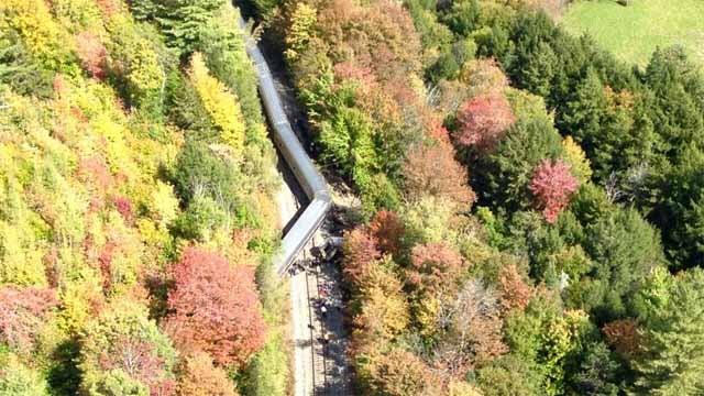 At least 4 injured in Amtrak derailment in Vermont (WCAX-TV)