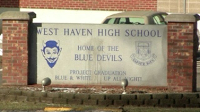 West Haven High School. (WFSB file photo)