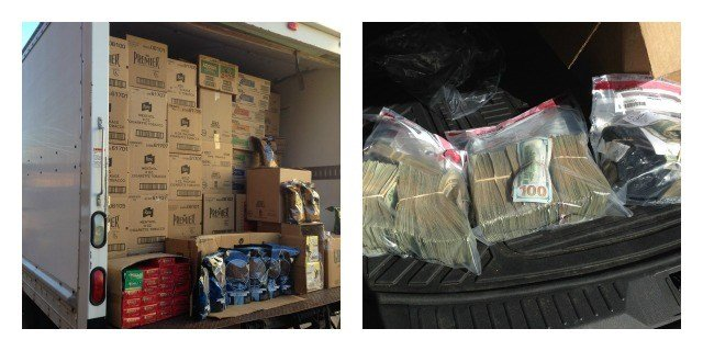 Three people were arrested for smuggling tobacco into the state from Pennsylvania and selling it wholesale. (WFSB)
