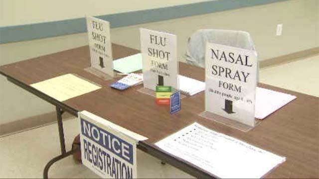 Clinics offer flu shots, training for volunteers (WFSB)