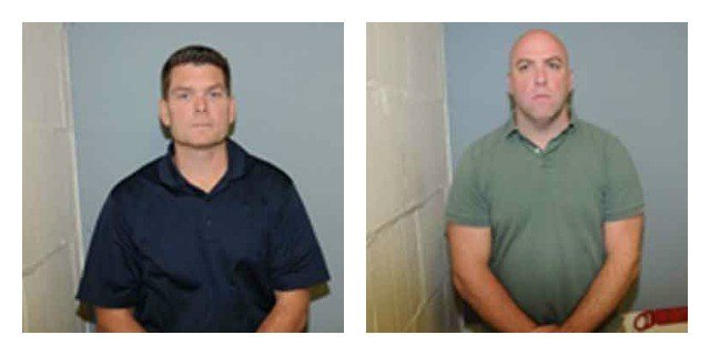 Two Darien police officers facing charges in shooting incident (Darien police)