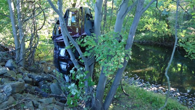 One woman was killed in a crash on Route 7 on Tuesday. (Norwalk Fire Department)