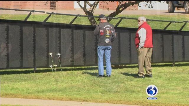 The Wall that Heals honors veterans of the Vietnam War. (WFSB)