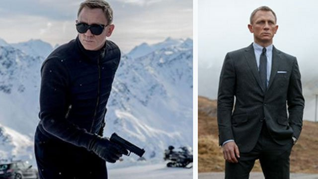 """Actor Daniel Craig said """"I'd rather break this glass and slash my wrists"""" than think about doing another Bond film. (CNN WIRE)"""