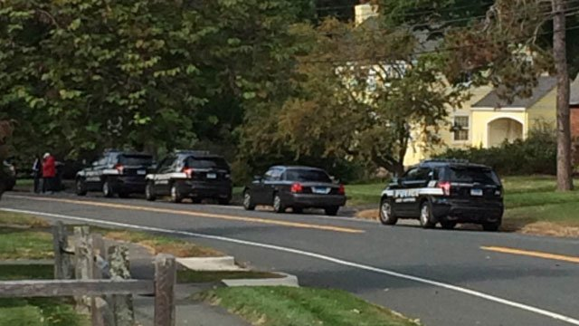 Solomon Schechter Day School in West Hartford was placed in 'soft lockdown' on Friday. (WFSB)