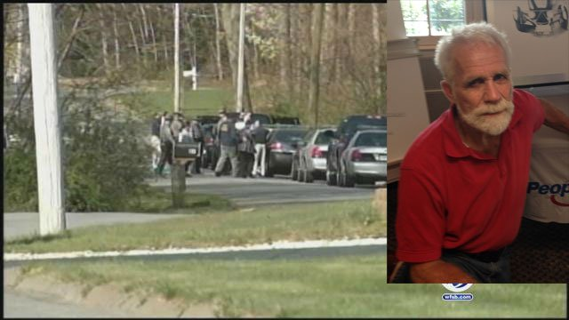 Nicholas M. Reardo, 72, was identified as the man killed after getting pulled into a woodchipper. (WFSB)