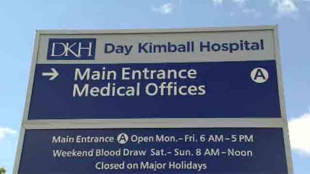 Day Kimball is one of the six hospitals will receive the extra payments. (WFSB)