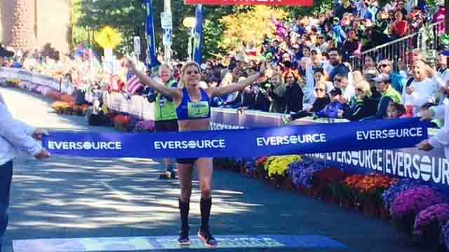 Erica Jesseman wins women's title for Eversource Hartford Marathon (Hartford Marathon Foundation)