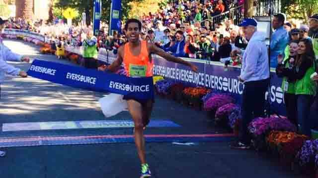 Jonas Hampton of New Britain (Hartford Marathon Foundation)