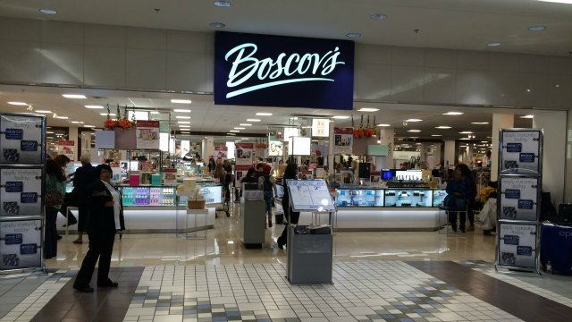 The Pennsylvania-based Boscov's department store chain is now open in Meriden. (WFSB)
