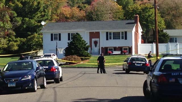 East Hartford police said a child was hit by a caron Sunday morning. (WFSB)
