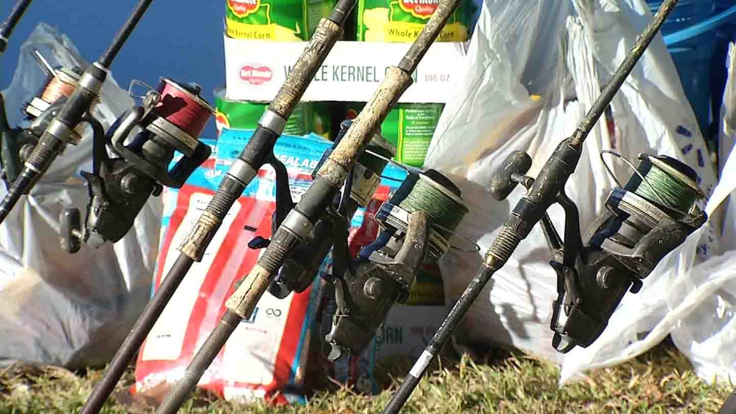 Anglers are competing in CARPTS 2015 Connecticut Carp Open this week. (WFSB)