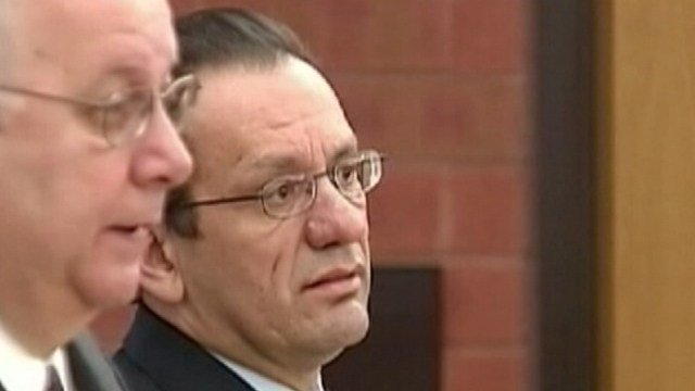 Former Hartford mayor Eddie Perez during a previous court appearance. (WFSB file photo)
