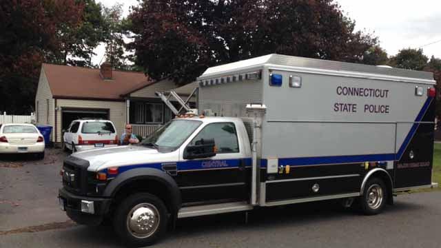 Police investigation underway in Newington (WFSB)