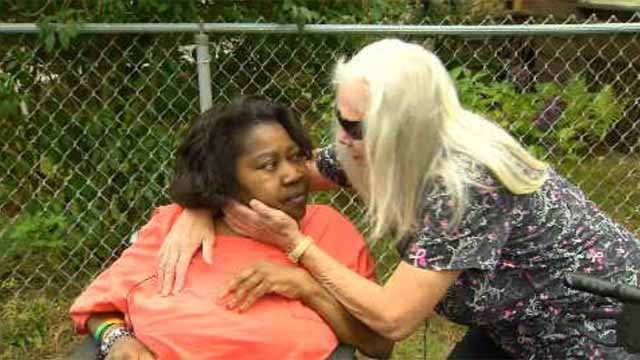Woman donates wheelchair to victims of theft (WFSB)