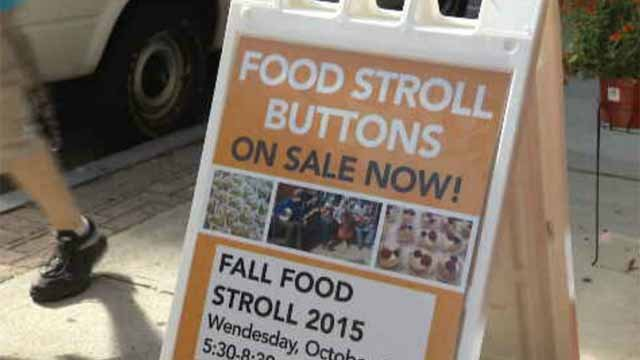 Fall Food Stroll takes over downtown New London (WFSB)
