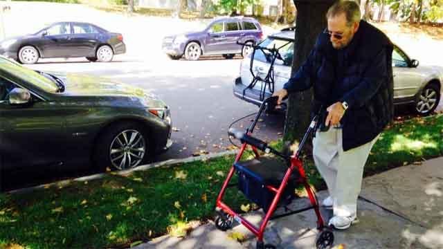 Hartford man struggles with nearby sidewalks (WFSB)