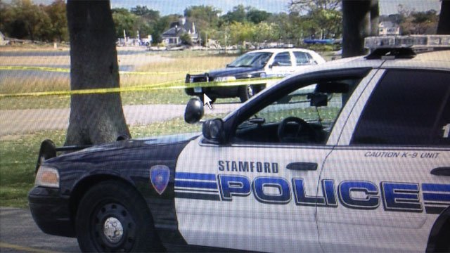 "Police are still on the scene after an ""aggravated sexual assault"" at Cove Island Park in Stamford. (WFSB)"