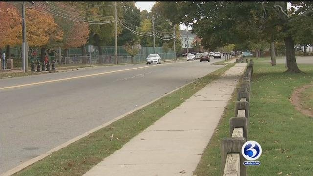 Police investigating after girl hit with a BB shooting on Lewis Avenue in Meriden. (WFSB)