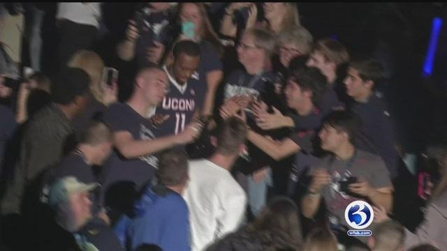 UConn's First Night  is Friday night. (WFSB File)
