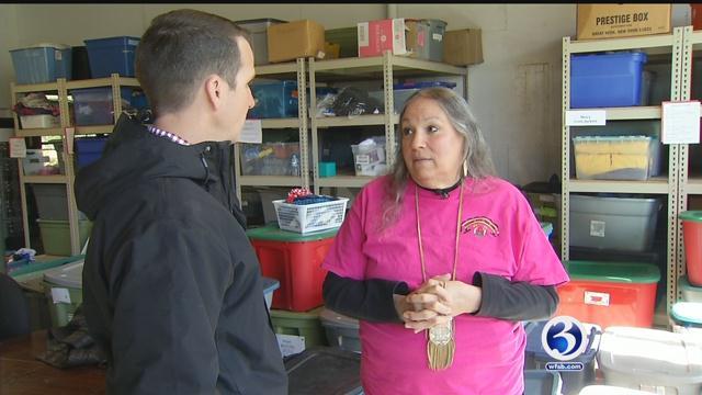 Rochelle Ripley, who is a CNN Heroes top-ten finalist, talks with Mark Zinni. (WFSB)