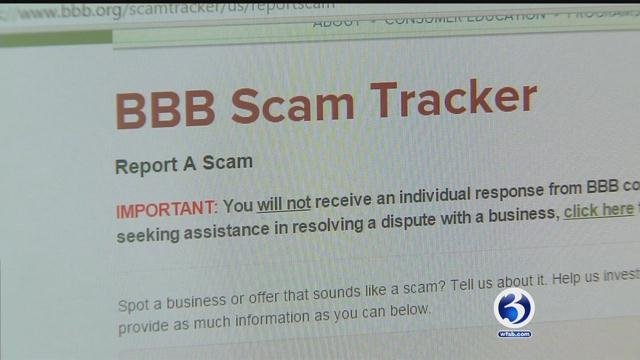 BBB scam tracker helps to report and track scams. (WFSB)