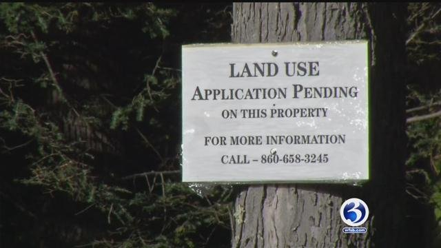 Simsbury residents voiced their concern about a development on Climax Road. (WFSB)
