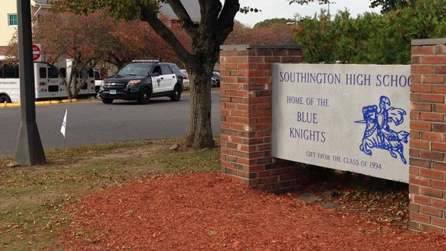 """Several schools in Southington are in """"secure schools"""" mode on Tuesday after a threat. (WFSB)"""