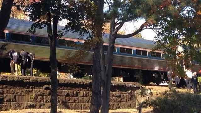 Metro North service delayed after woman struck and killed by train in Fairfield (WFSB)