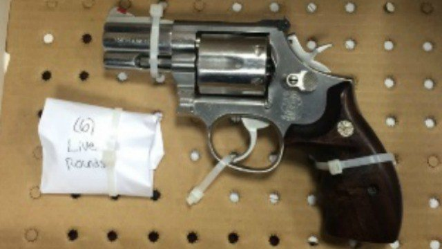 Police seized this firearm from a mother accused of selling drugs. (Hartford Police Department)