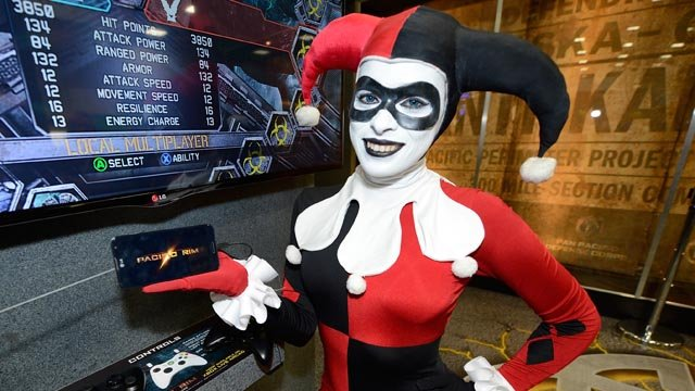 There may be a lot of Harley Quinns running around Connecticut this Halloween, if Google is correct. (AP photo)