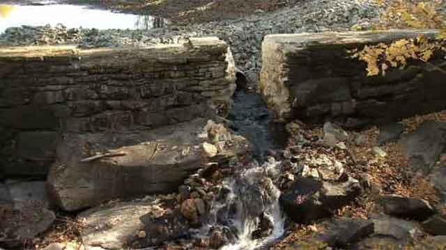 Two dams in Lyme being dismantled (WFSB)