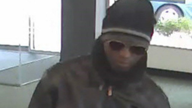 Police released this photo of the man who robbed the TD Bank. (Manchester Police Department)