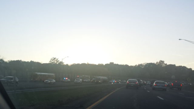 The crash was reported after 5 p.m. on Route 72 near exit 7. (WFSB)